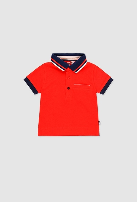 Pique polo for baby boy_1