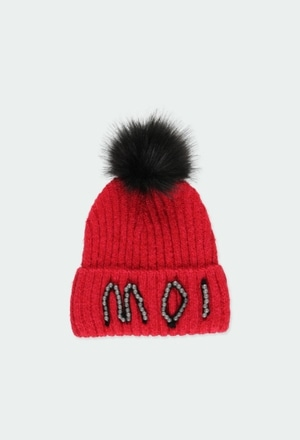 Knitwear hat for girl_1