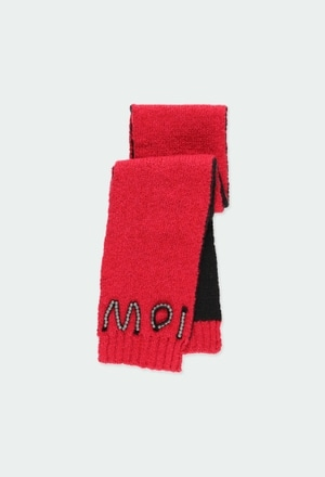 Knitwear scarf for girl_1
