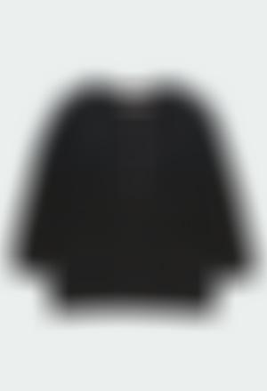 Casaco tricot para menina