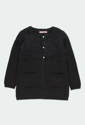 Chaqueta tricotosa de niña_1
