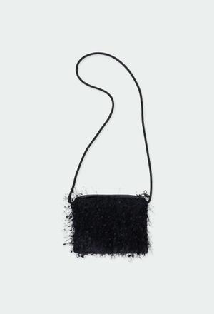 Bolsa de mão com franjas para menina_1