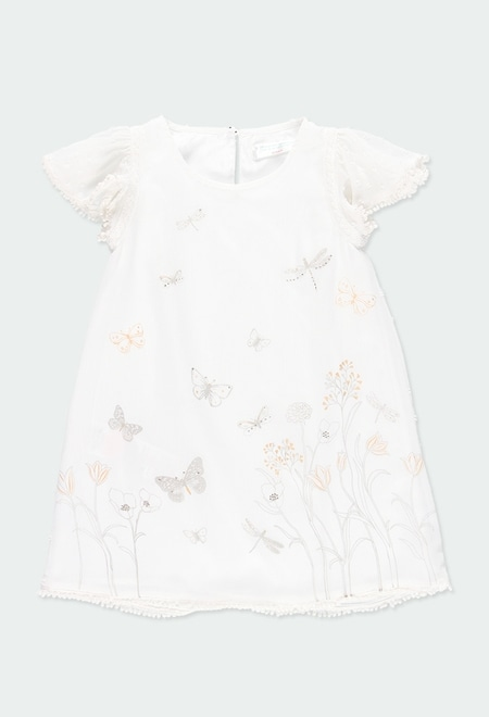 "Robe ""papillons"" pour fille_1"