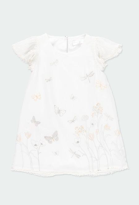 """Vestido gasa """"mariposas"""" de niña_1"""