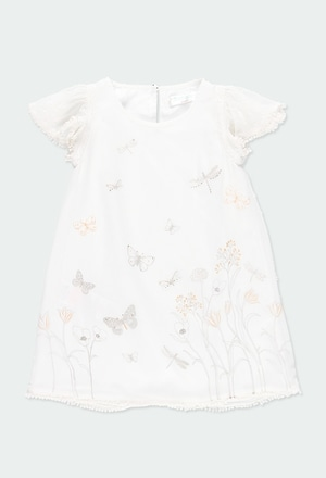 "Chiffon dress ""butterfly"" for girl_1"
