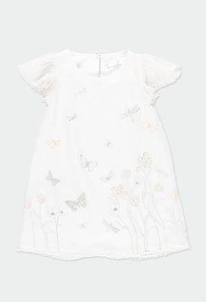 """Vestito garza """"farfalla"""" per ragazza_1"""