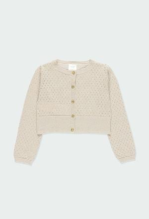 Giacchetta tricot per ragazza_1