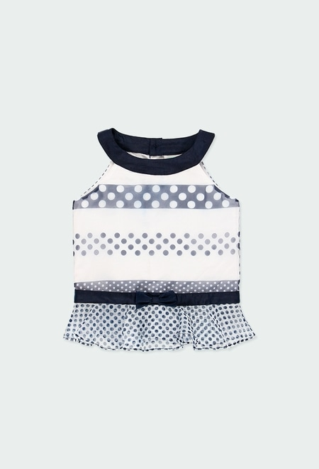 Shirt fantasy polka dot for girl_1