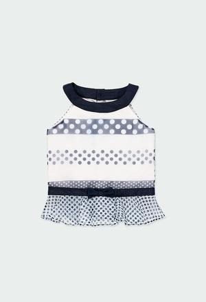Shirt fantasy polka dot for girl_1