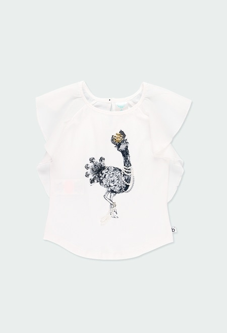 T-Shirt tricot pour fille_1