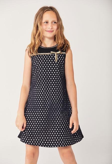 Batiste dress embroidered for girl_1
