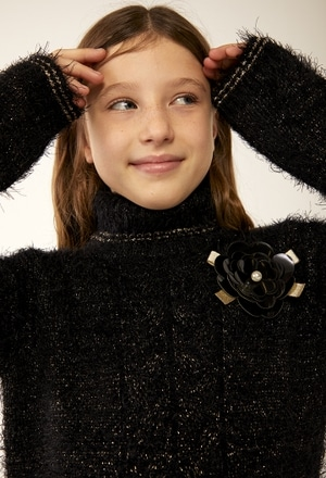 Vestito maglieria per ragazza_1
