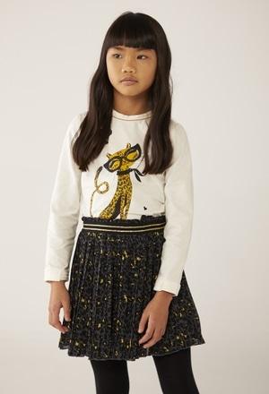 Skirt gauze for girl_1