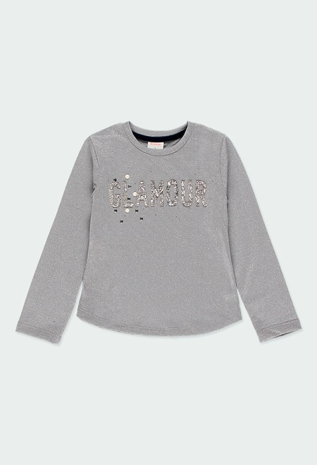 "Camiseta punto ""Glamour"" de niña_1"