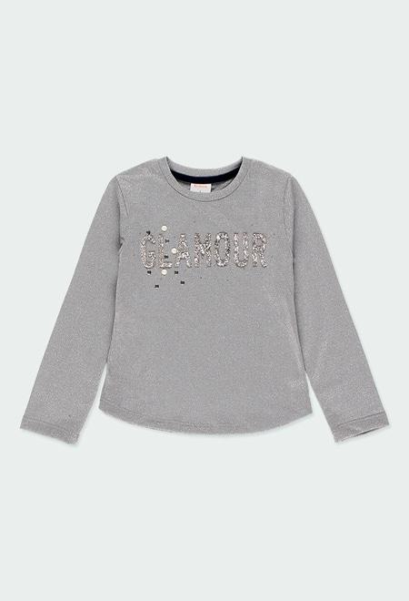 T-Shirt gestrickt für mädchen_1