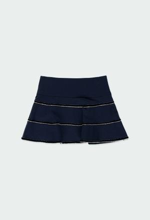 Knit skirt for girl_1