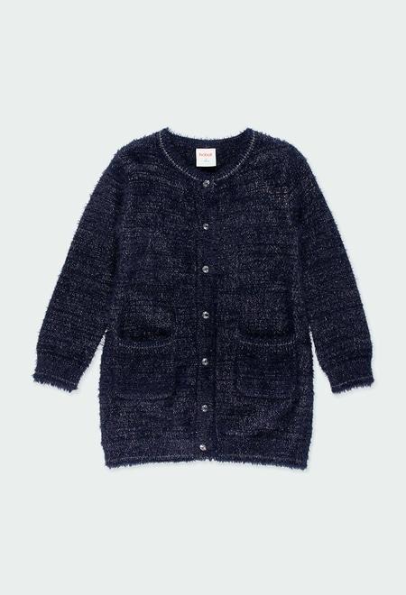 Casaco tricot para menina_1