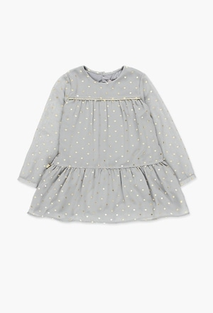Chiffon dress for girl_1