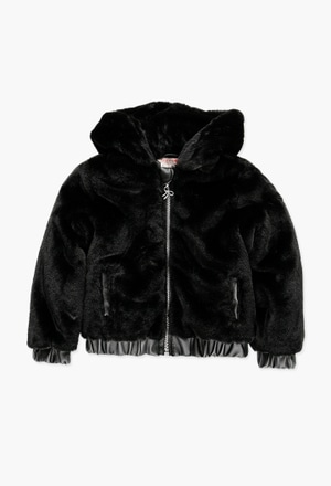 Wind breaker fur for girl_1