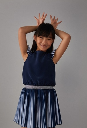 Vestido gasa de niña_1