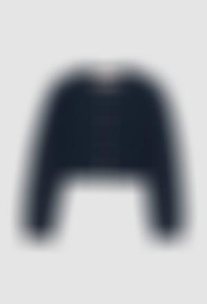 Chaqueta tricotosa de niña