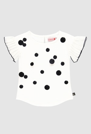 T-Shirt gestrickt elastisch für mädchen_1
