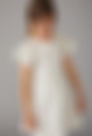 Vestido tul con lentejuelas de niña