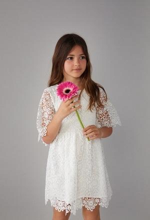 Vestido guipure de niña_1