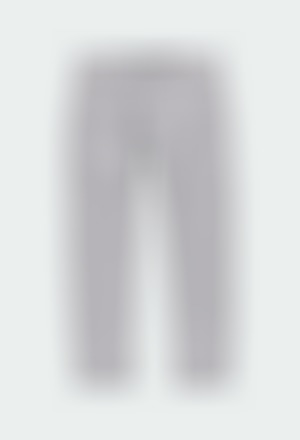 Stretch satin trousers for boy