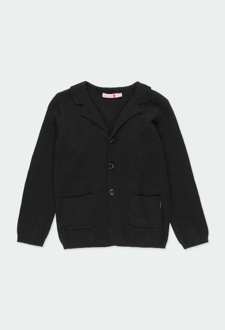 Knitwear jacket for boy_1
