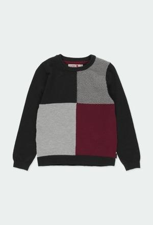Pullover tricot para menino_1