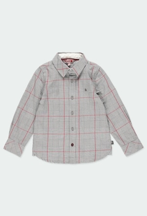Long sleeves shirt check for boy_1