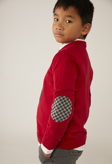 """Knitwear pullover """"bbl music"""" for boy_1"""