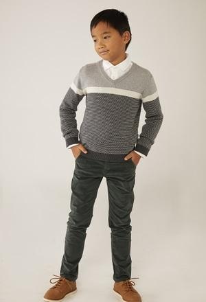 Strick pullover für junge_1