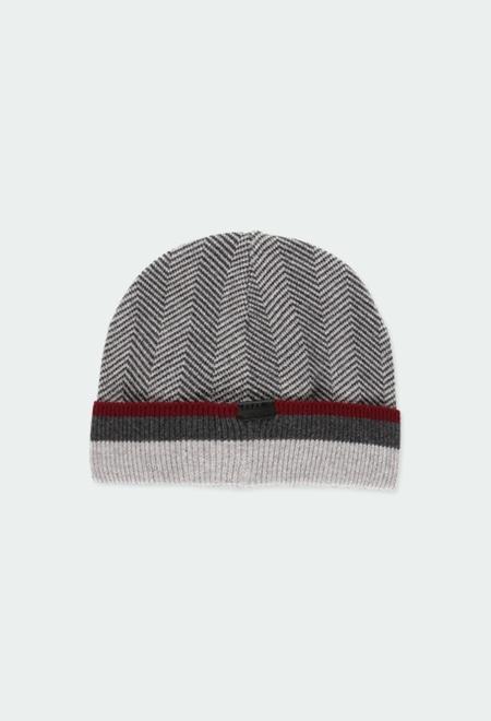 Bonnet tricoté pour garçon_1