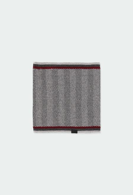 Cache-cou tricot pour garçon_1