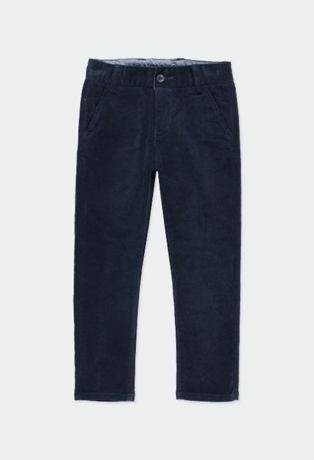 Microcorduroy trousers stretch for boy_1