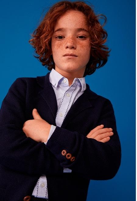 Casaco tricot para menino_1