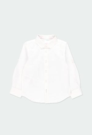 Camicia lino manica lunga per ragazzo_1
