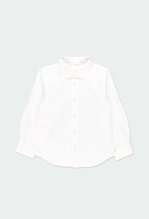 Linen shirt long sleeves for boy_1