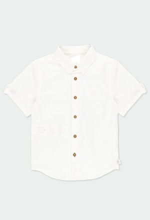 Linen shirt short sleeves for boy_1