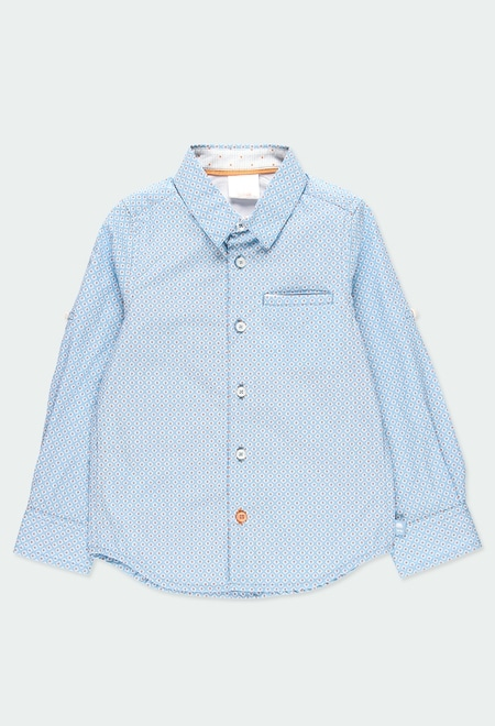 Poplin shirt fantasy for boy_1