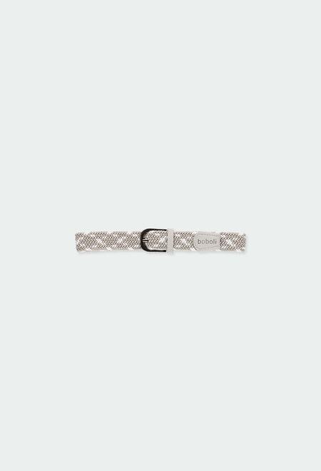 Cinturón trenzado elástico de niño_1