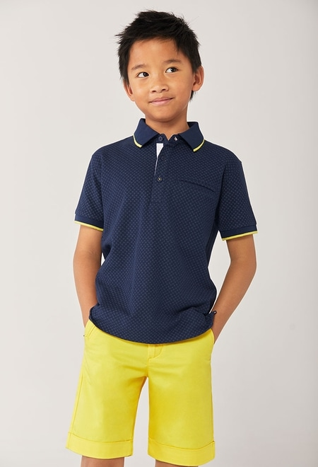 Pique polo for boy_1