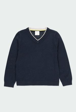 Maglione maglieria con gomito per ragazzo_1