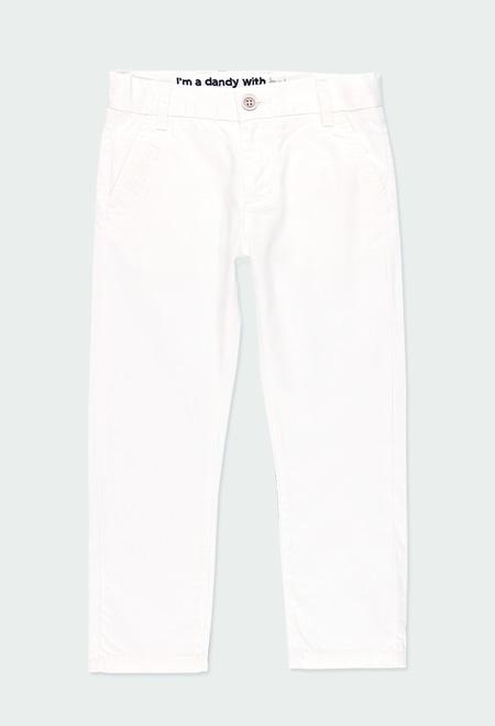 Pantalón satén elástico de niño_1