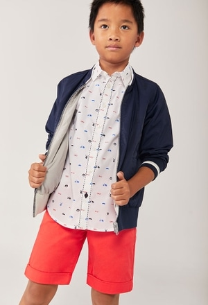 Hemd popelin für junge_1