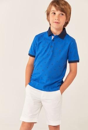 Pique polo for boy_1