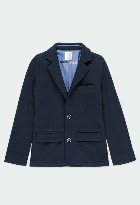 Knit blazer for boy_1