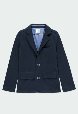 Knit blazer for boy_1
